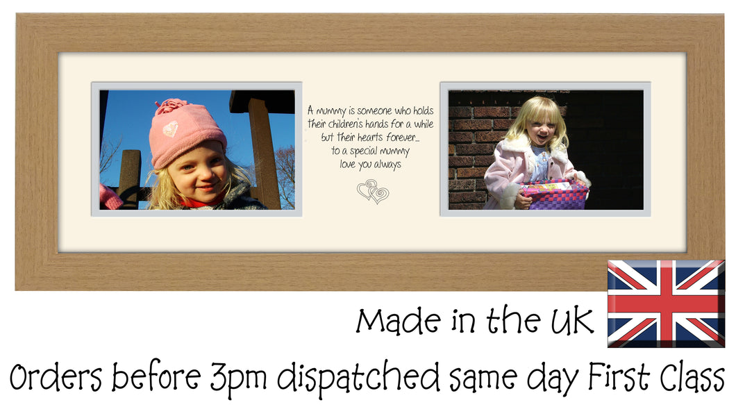 Mummy Photo Frame Two Box Hands and Heart photo frame 6