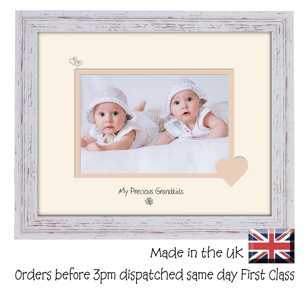 Grandkids Photo Frame - My precious Grandkids Landscape photo frame ...