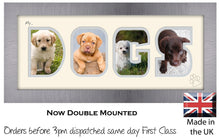 My Dogs Photo Frame - My Dogs Photo Frame 1285BB 375mm x 151mm mount size  , Choices of frames & Borders