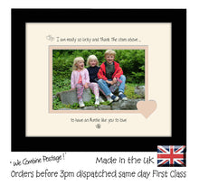 "Auntie Photo Frame - I Thank the stars Auntie Landscape photo frame 6""x4"" Photo 750F 9""x7"" mount size , Choices of frames & Borders"