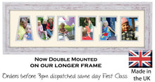 Auntie Photo Frame - Auntie Photo Frame 25CC 545mm x 151mm mount size  , Choices of frames & Borders