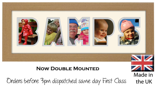 Bamps Photo Frame Welsh Word Photo frame 1244A 450mm x 151mm mount size  , Choices of frames & Borders