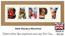Bampy Photo Frame Welsh Word Photo Frame Photos in a Word 1245A 450mm x 151mm mount size  , Choices of frames & Borders