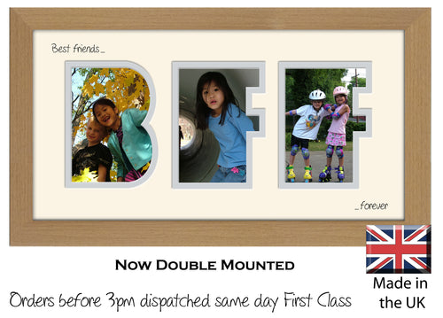 BFF Best Friends Forever Photo Frame - BFF Best Friends Forever Photo Frame 70AA 297mm x 151mm mount size  , Choices of frames & Borders