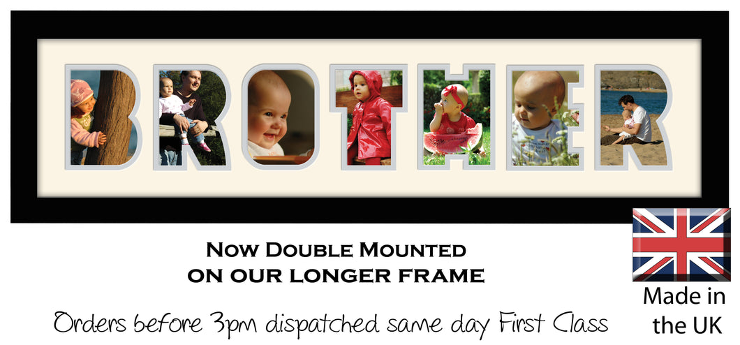 Brother Photo Frame - Brother Word Photo Frame 86DD 640mm x 151mm ...