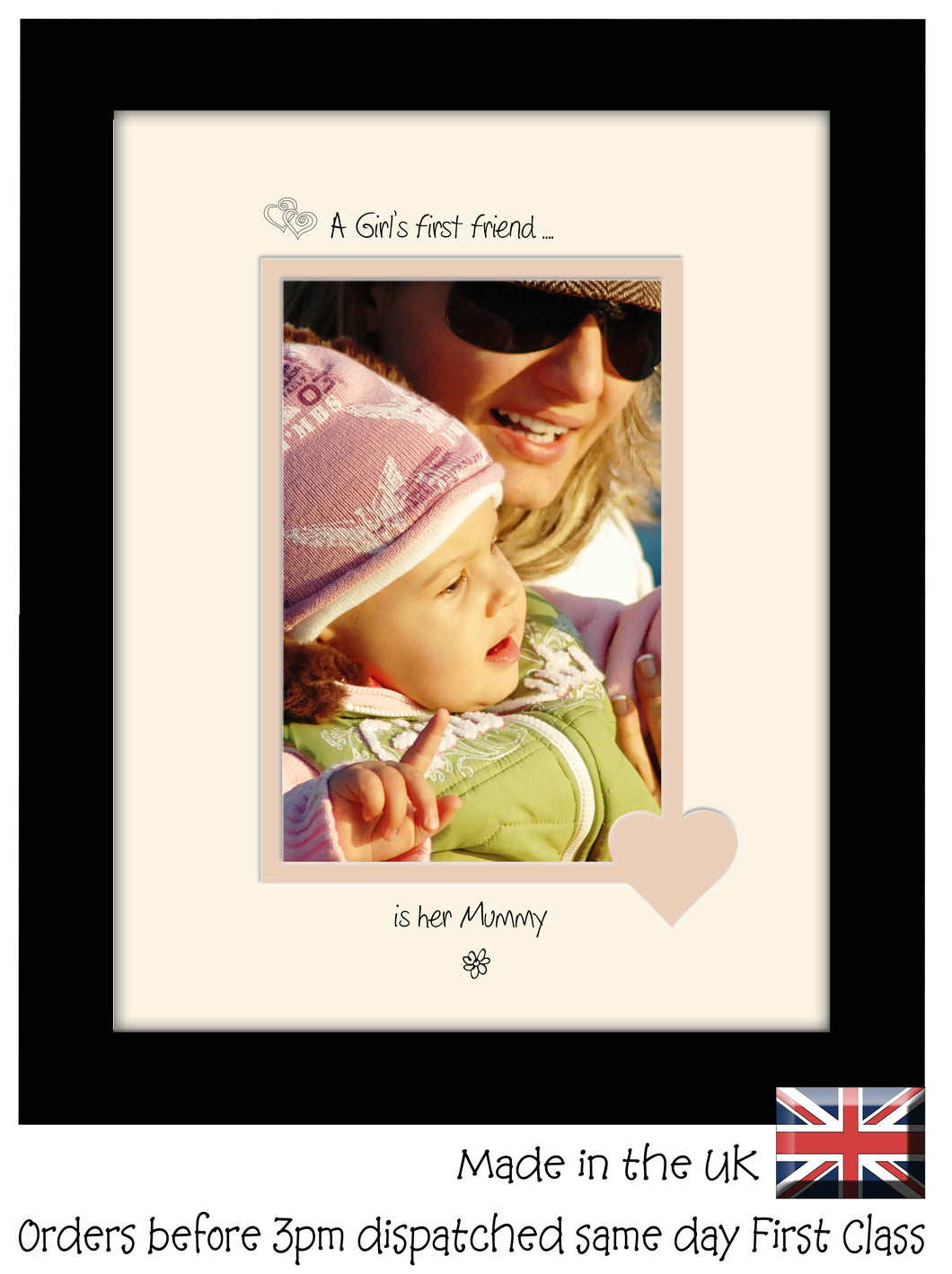 Mummy Photo Frame - A girls first friend…  is her Mummy Portrait photo frame 6