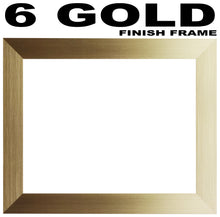 6 Letter Photo Frame - Double Mounted Six Letter Custom Name Personalised Word Photo Frame 1266CC 545mm x 151mm mount size  , Choices of frames & Borders