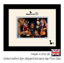 "Halloween Photo Frame - Halloween Landscape photo frame 6""x4"" photo 789F 9""x7"" mount size  , Choices of frames & Borders"