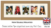 Mamma Photo Frame Word Photo frame 1243A 450mm x 151mm mount size  , Choices of frames & Borders
