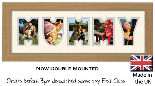 Mummy Photo Frame Word Photo frame 30A 450mm x 151mm mount size  , Choices of frames & Borders