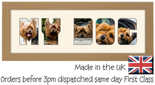 Pets - Word Photo Frames – Photos in a word