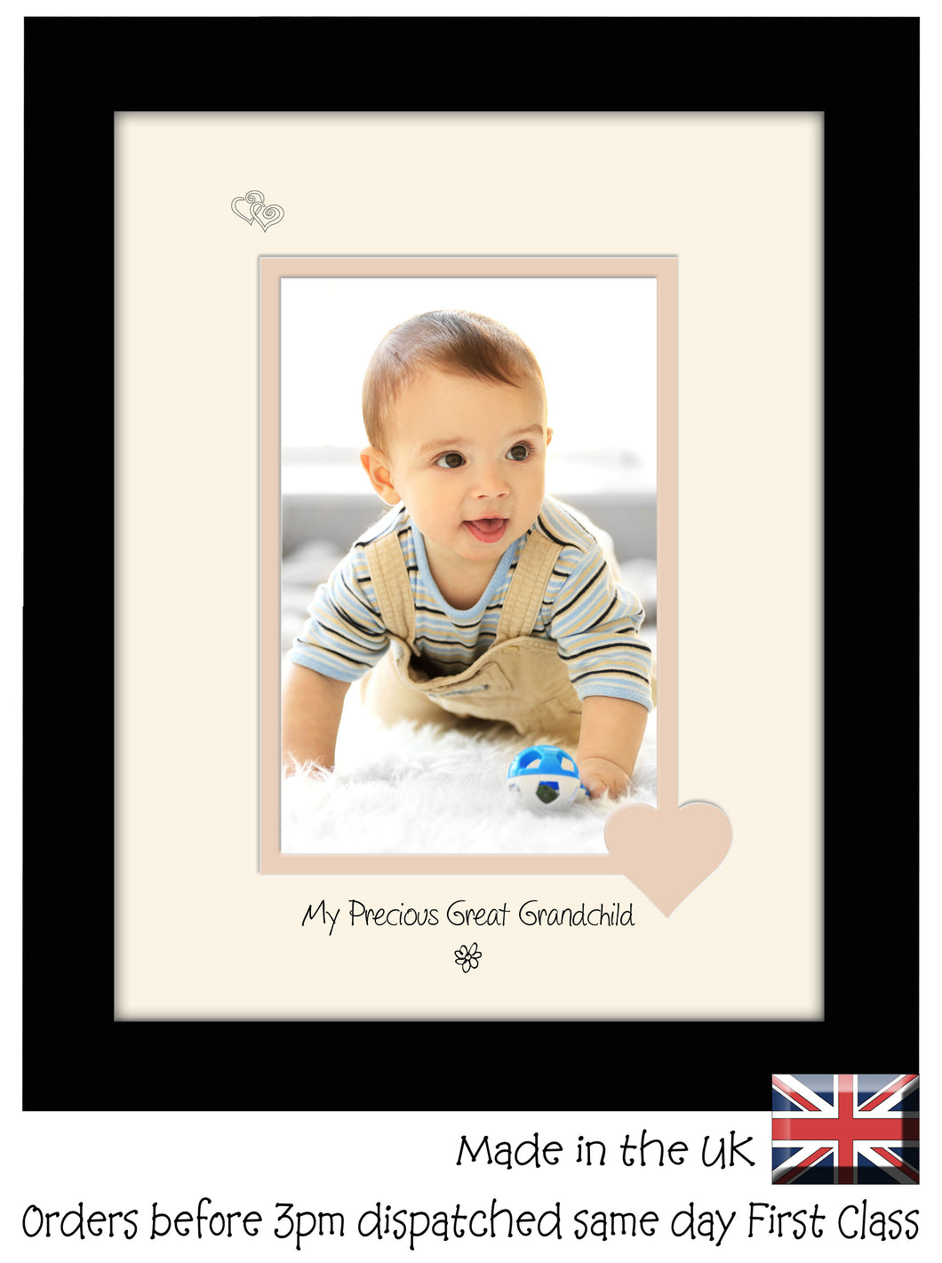 Great Grandchild Photo Frame - My precious Great Grandchild Portrait photo frame 6