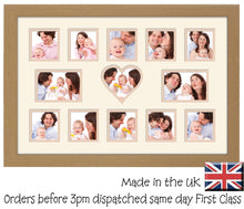 "3""x3"" x10   4""x3"" x2   3.5""x3.5"" x1 Plain Photo Frame Double Mounted 950D 450mm x 297mm mount size , Choices of frames & Borders"