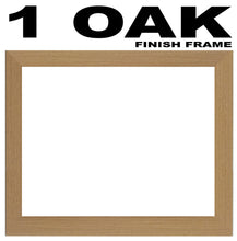Nain Photo Frame - Nain Thank the Stars Word Photo Frame 896-BB 375mm x 151mm mount size  , Choices of frames & Borders