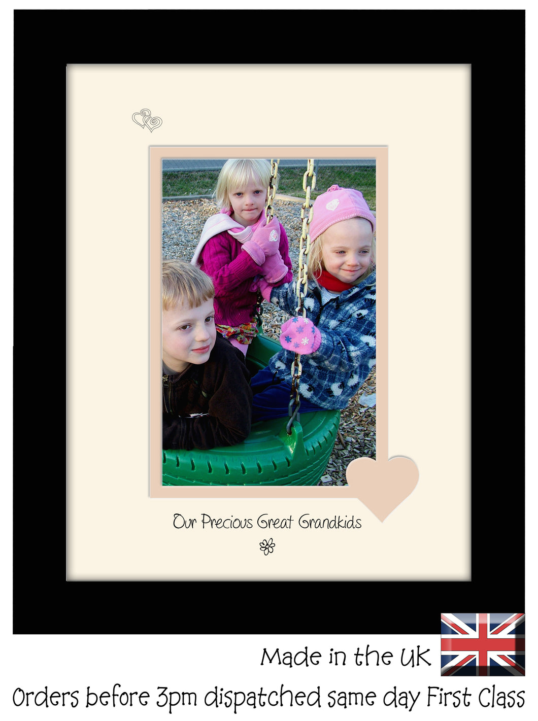 Great Grandkids Photo Frame - Our precious Great Grandkids Portrait photo frame 6