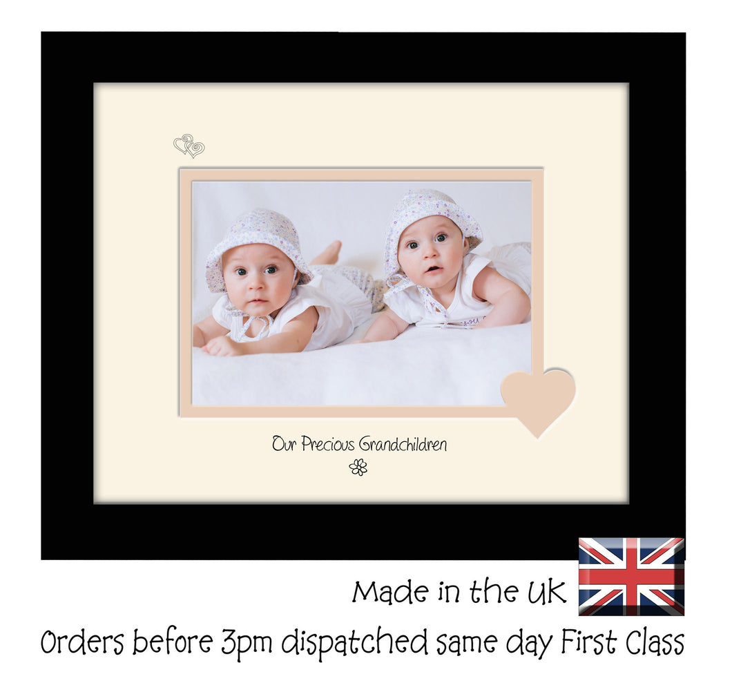 Grandchildren Photo Frame - Our precious Grandchildren Landscape photo frame 6
