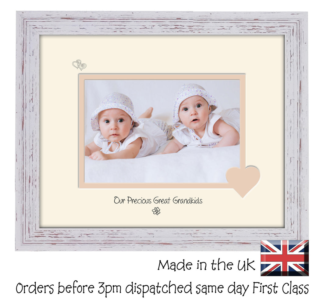Great Grandkids Photo Frame - Our precious Great Grandkids Landscape photo frame 6