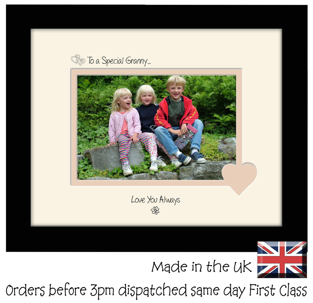 Granny Photo Frame - To a Special Granny... Love you Always Landscape photo frame 6