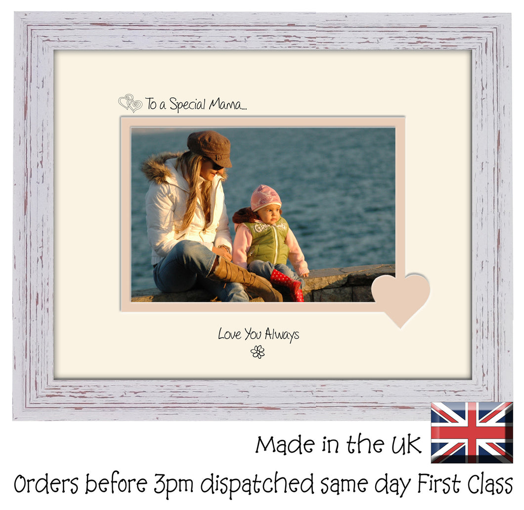 Mama Photo Frame - To a Special Mama... Love you Always Landscape photo frame 6