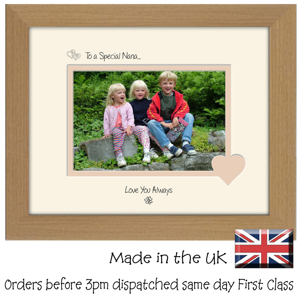 Nana Photo Frame - To a Special Nana... Love you Always Landscape photo frame 6