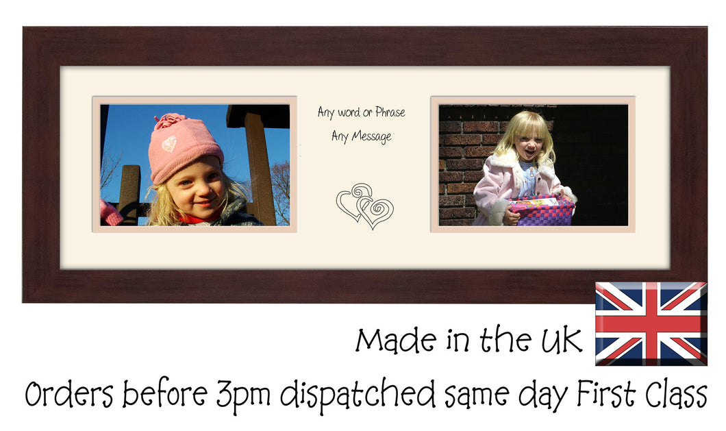 Personalised Two Box Photo Frame 6