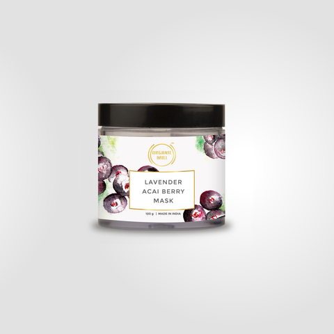 LAVENDER ACAI BERRY MASK