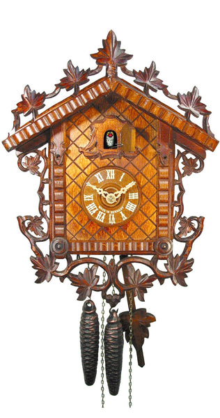 Cuckoo Clock 1885 Replication Rail Station Clock 1-Day Movement