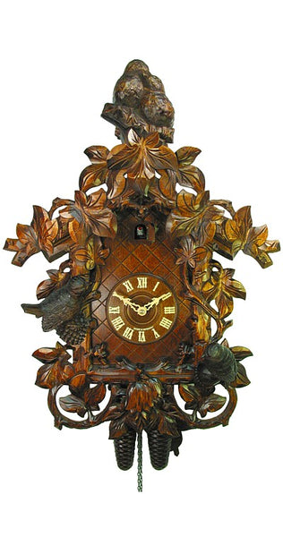 Cuckoo Clock Birds in the Tendrils 8-Day Movement - Cuckoo Clock Meister