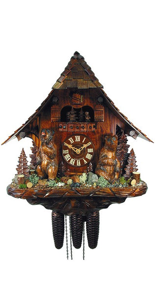 Cuckoo Clock Bears in the Forest 8-Day Movement with Music - Cuckoo Clock Meister