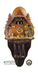 Cuckoo Clock Witches House 8-Day Movement with Music - Cuckoo Clock Meister