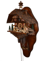 Cuckoo Clock of the Year 2015 with Back Wall  8-Day with Music