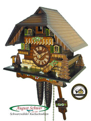 Cuckoo Clock Little Black Forest House 1-Day Movement
