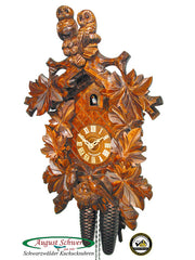 Cuckoo Clock Two Owls and Nest 8-Day Movement