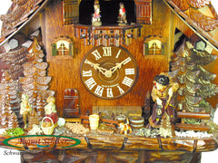 Cuckoo Clock Witches House 8-Day Movement with Music