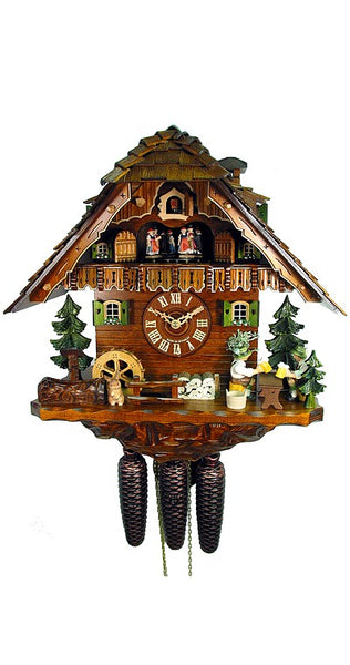 Cuckoo Clock The Two Beer Drinkers 8-Day Movement Music - Cuckoo Clock Meister