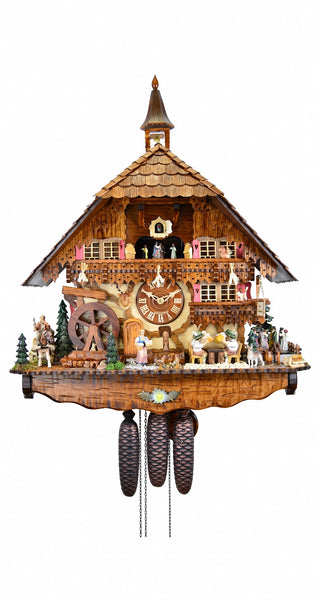 Cuckoo Clock of the Year 2017 8-Day with Music