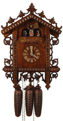 Cuckoo Clock 1885 Replication 8-Day Movement - Cuckoo Clock Meister