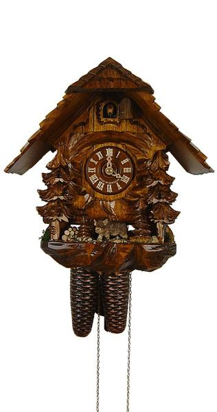 Cuckoo Clock Wild Pig 8-Day Movement by August Schwer - Cuckoo Clock Meister