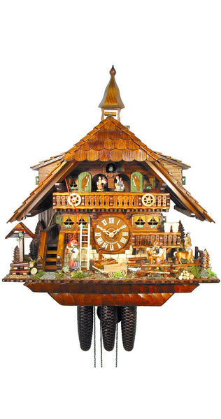 Cuckoo Clock of the Year 2010 Pony Farm 8-Day Movement Music - Cuckoo Clock Meister