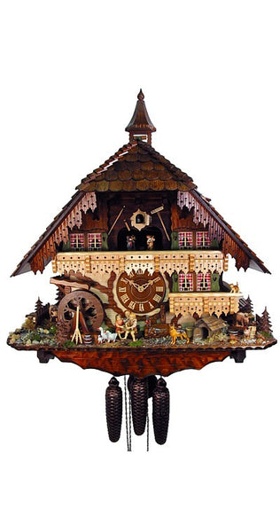 Cuckoo Clock of the Year 2011 Mill House 8-Day Movement Music - Cuckoo Clock Meister
