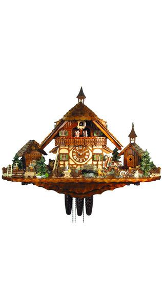 Cuckoo Clock of the Year 2012 Goat Herder 8-Day Movement Music - Cuckoo Clock Meister