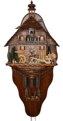 Cuckoo Clock of the Year 2015 with Back Wall  8-Day with Music - Cuckoo Clock Meister