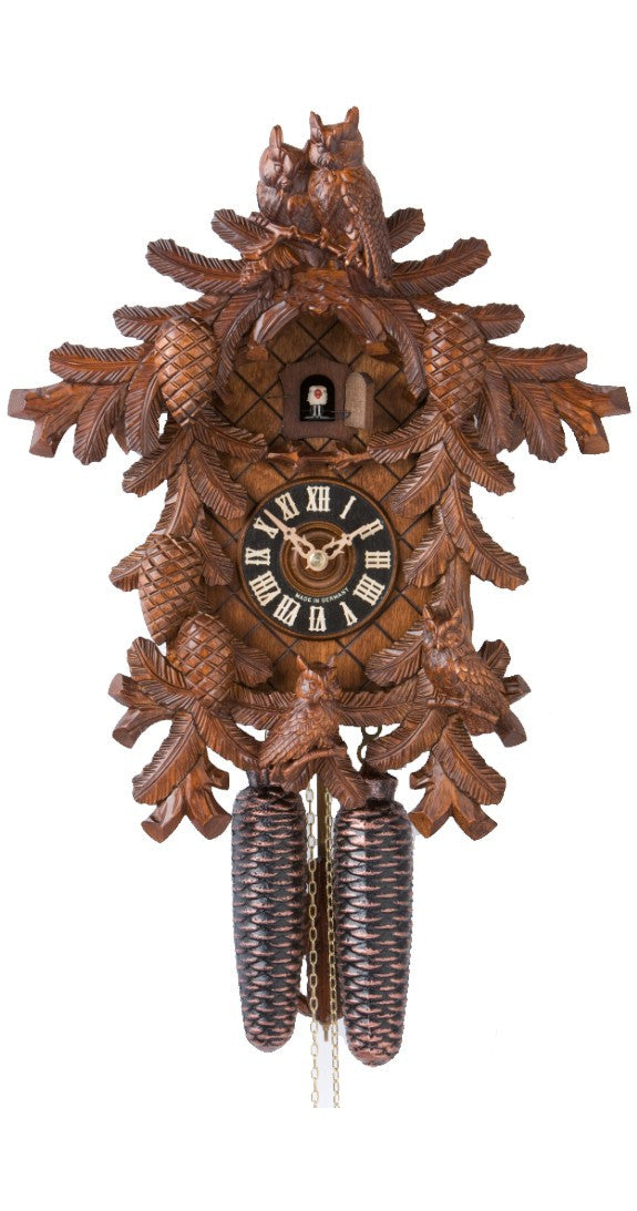 Cuckoo Clock with Four Owls 8-Day Movement - Cuckoo Clock Meister