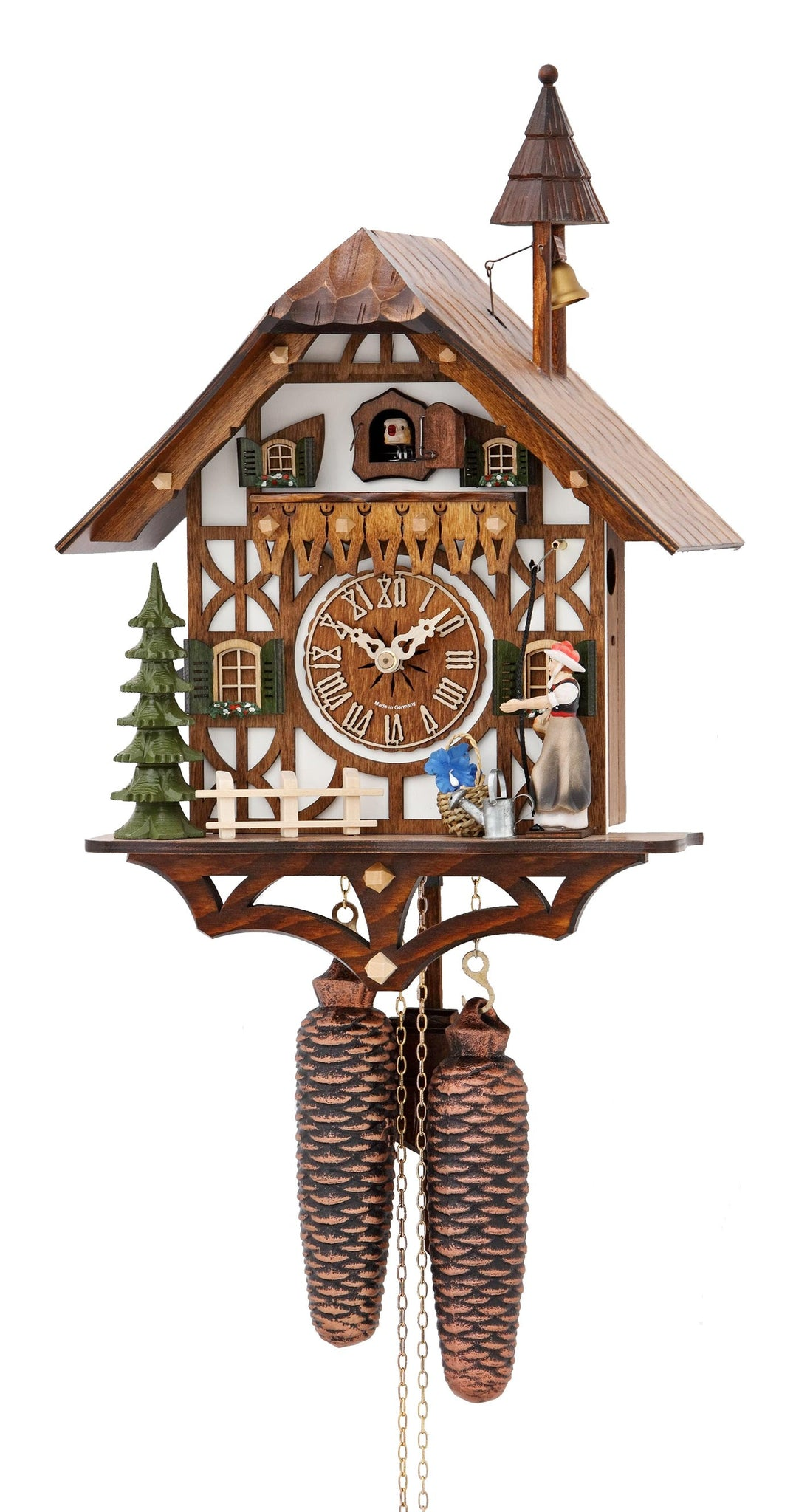 Cuckoo Clock Black Forest House 8-Day Movement - Cuckoo Clock Meister