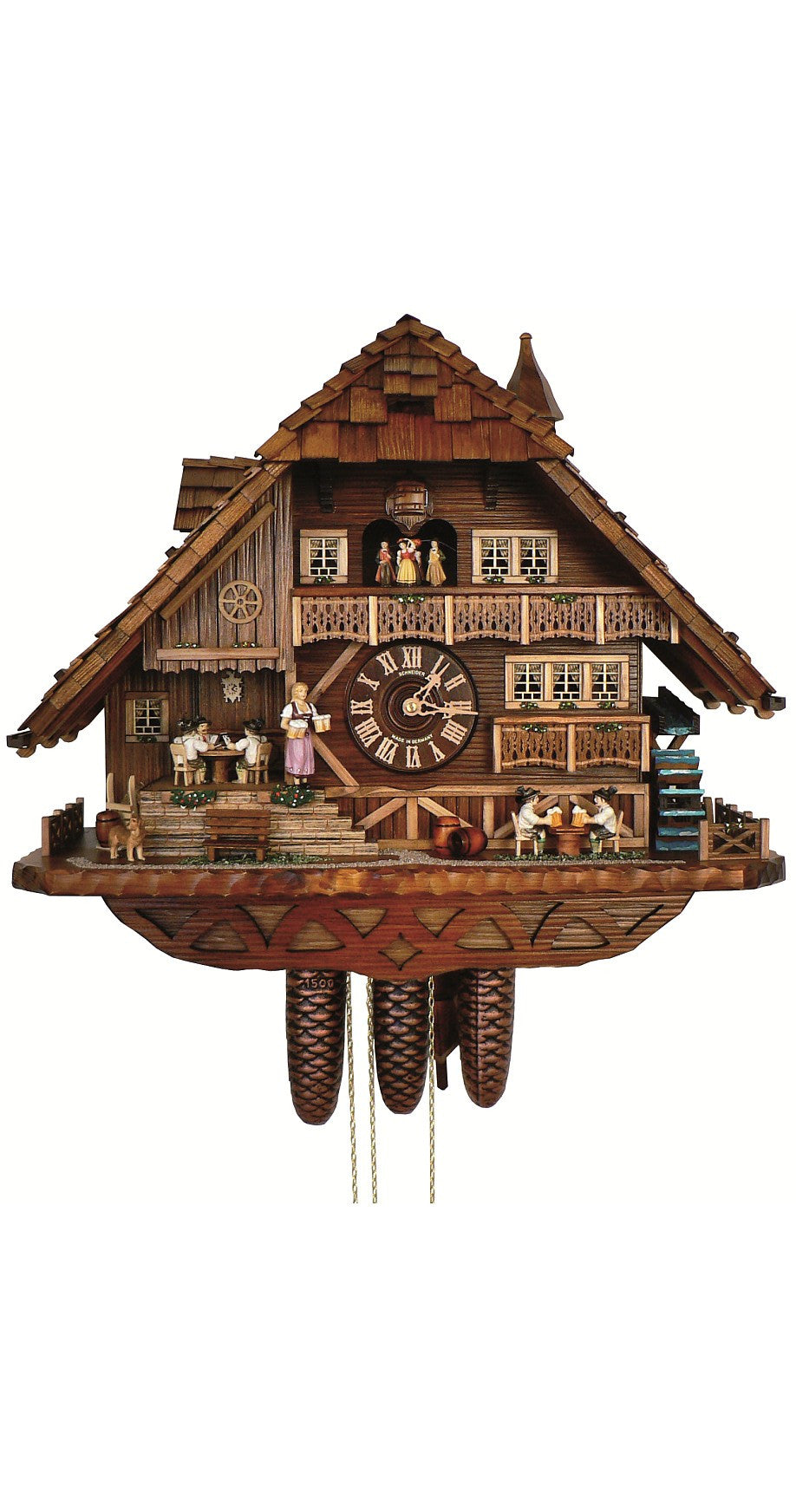 Cuckoo Clock of the Year 2014 - 8-Day Movement with Music - Cuckoo Clock Meister