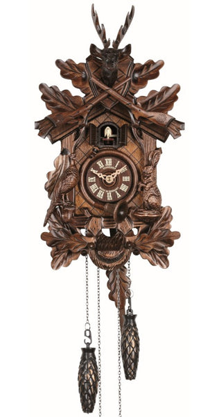 Quartz Cuckoo Clock Hunting Clock with Music by Schneider - Cuckoo Clock Meister