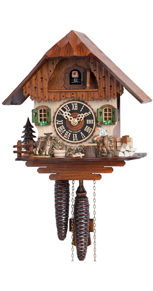 Cuckoo Clock Little Black Forest House 1-Day Movement - Cuckoo Clock Meister