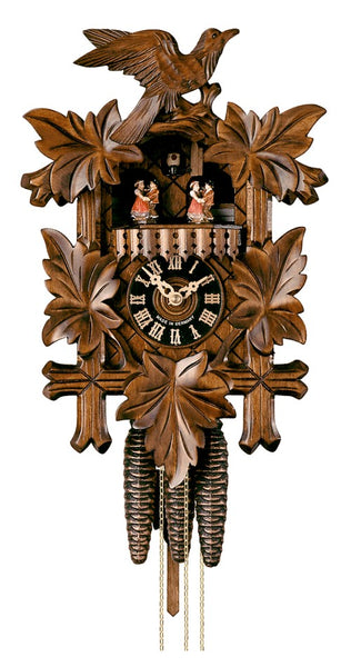 Cuckoo Clock Five Leaves and Bird 1-Day Movement with Music