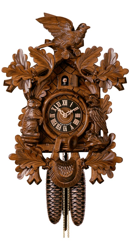 Cuckoo Clock Hunting Clock 8-Day Movement - Cuckoo Clock Meister