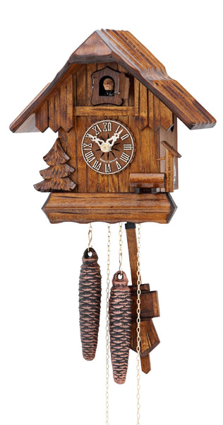 Cuckoo Clock Black Forest House 1-Day Movement by Hekas - Cuckoo Clock Meister